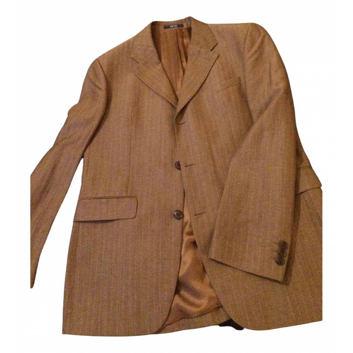 Kenzo \N Brown Linen Suits for Men 50 FR