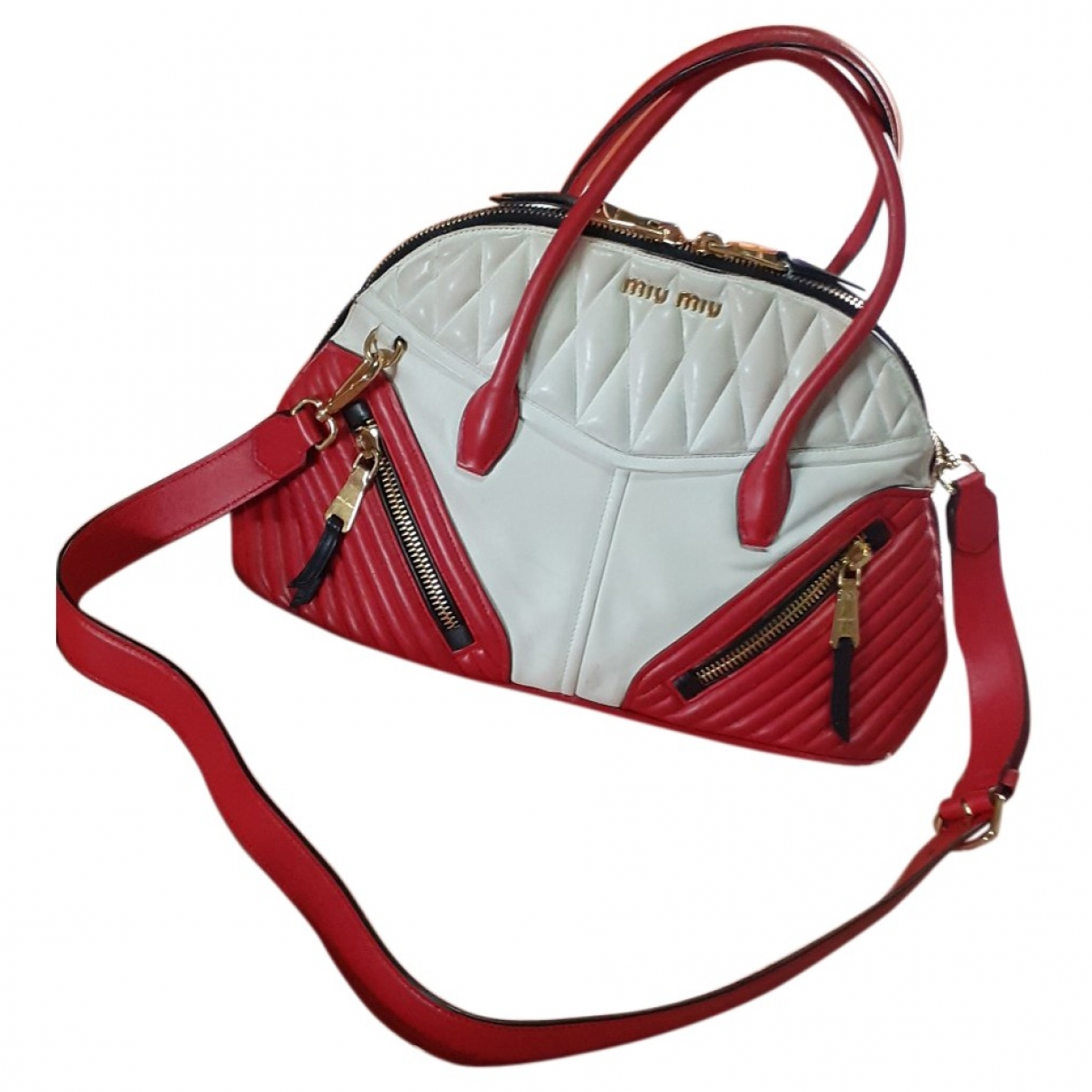 Miu Miu \N Multicolour Leather handbag for Women \N