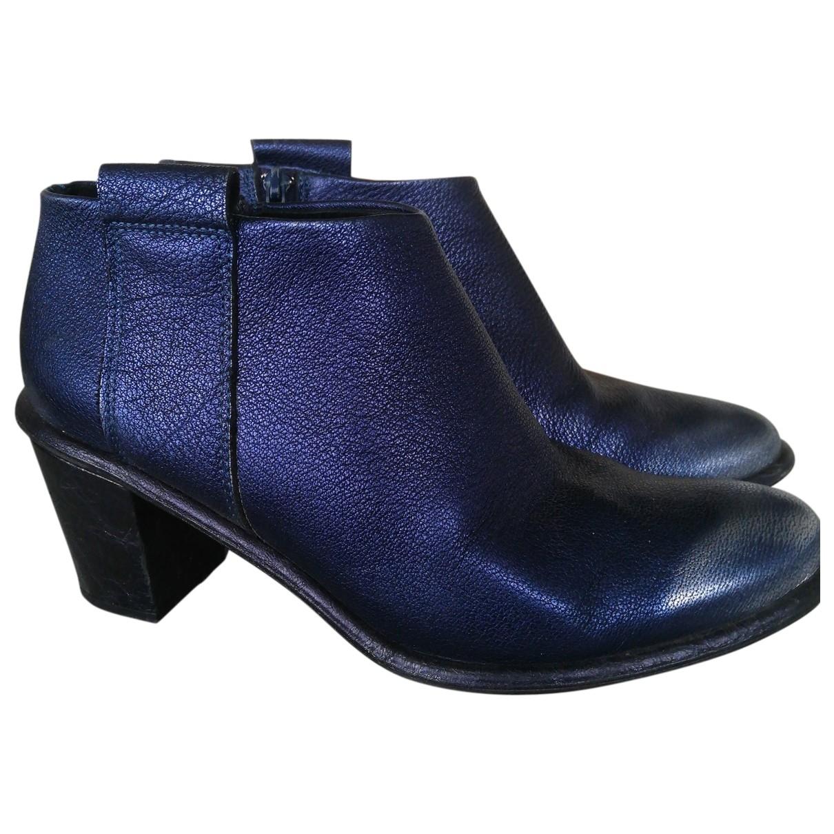 Miista \N Stiefel in  Blau Leder