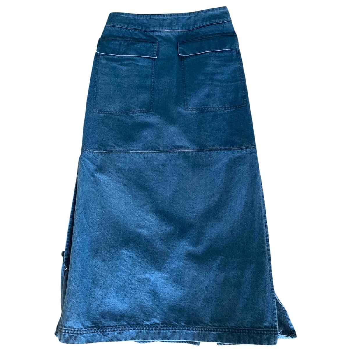 Marni \N Rocke in  Blau Baumwolle