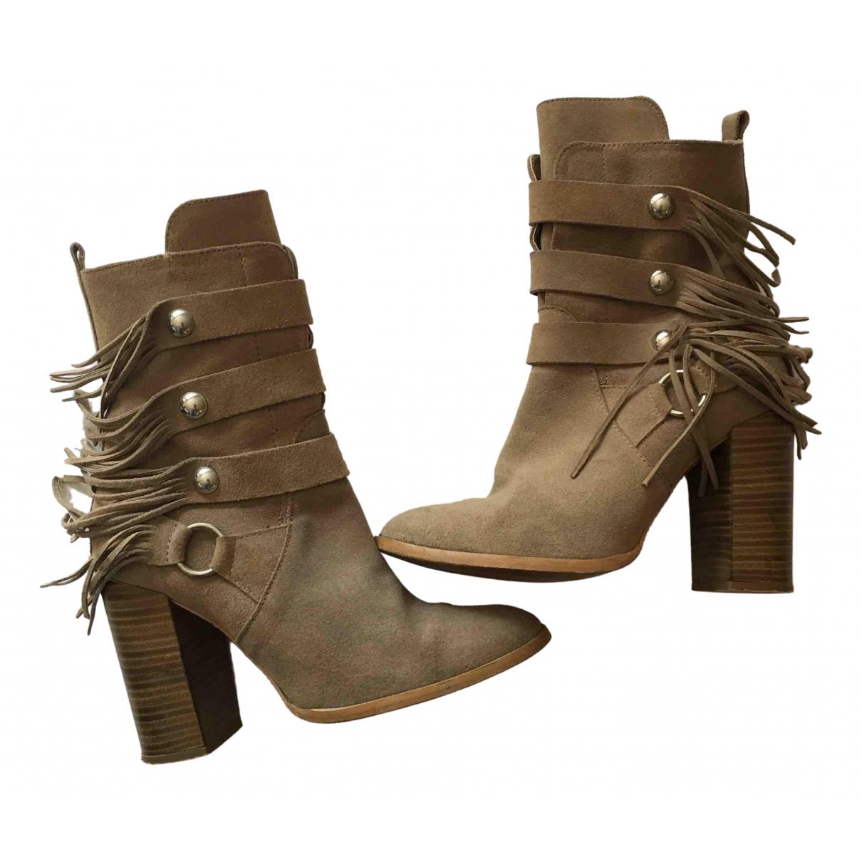 Zara \N Suede Boots for Women 5 UK