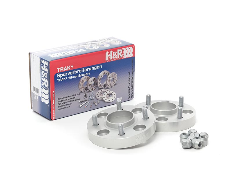 H&R 5064640 Trak+ | 4x114.3 | 64.1 | Stud | 12x1.5 | 25mm | DRM Wheel Spacer Honda Accord Wagon 2/4 door, Type CD, Wagon 94-95