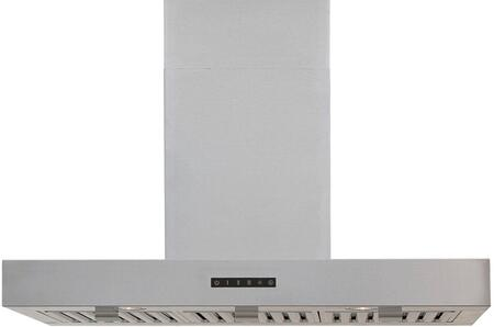 WS-28TB30SS 30 Wall Mount Chimney Style Hood with Magnetized Baffle Filters  3 Speed Blower  530 CFM Blower  and LED Lighting  in Stainless