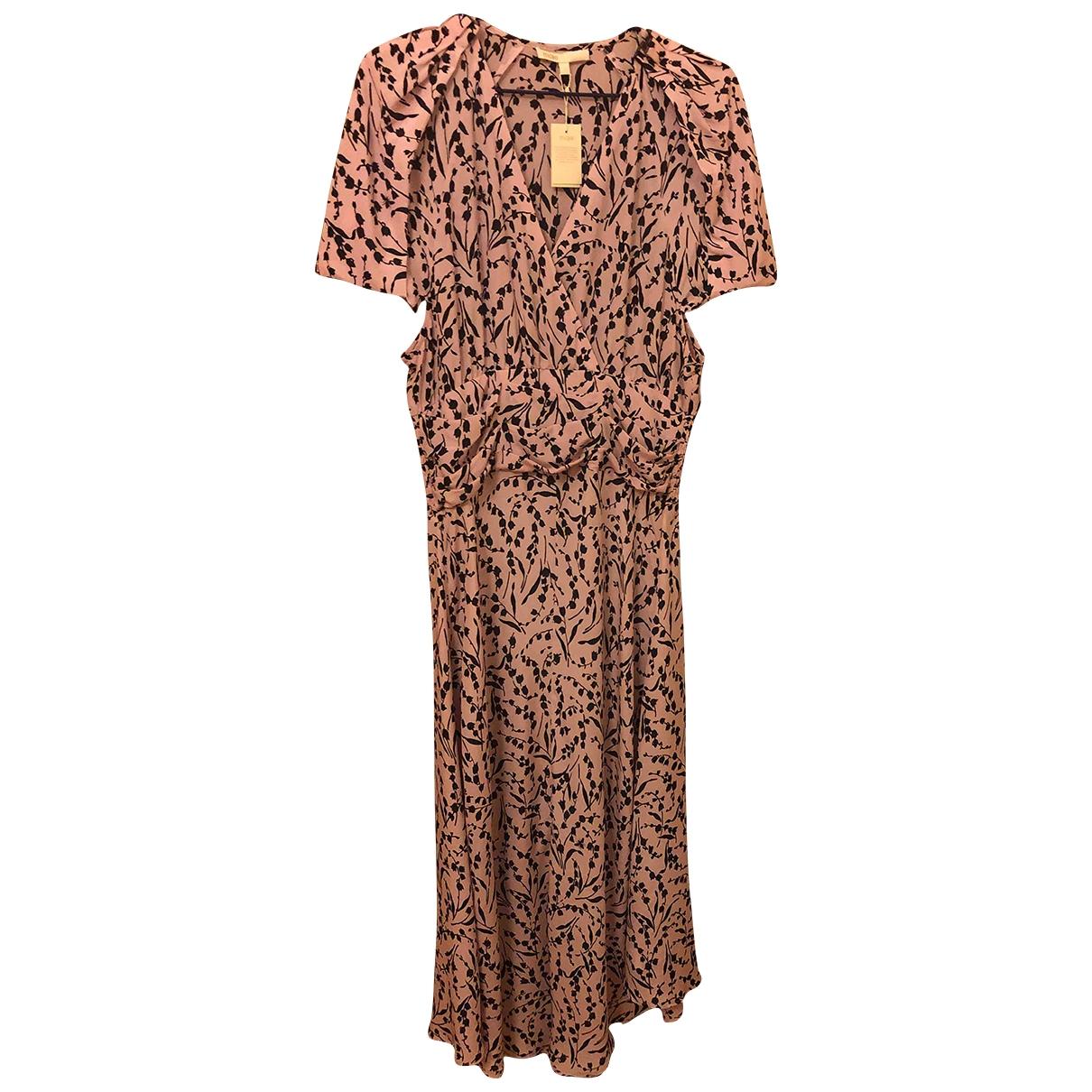 Maje - Robe Spring Summer 2020 pour femme en soie - rose