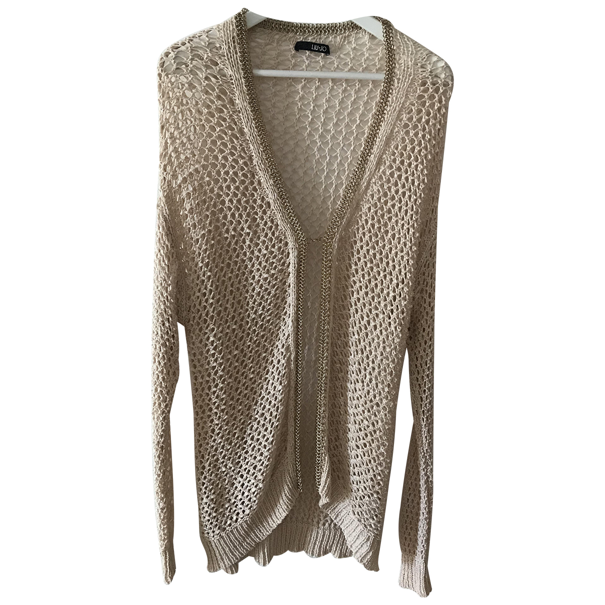 Liu.jo \N Beige Cotton Knitwear for Women 40 FR