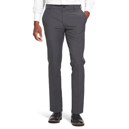 Van Heusen Flex 3 Slim Fit Dress Pant, 32 29, Black