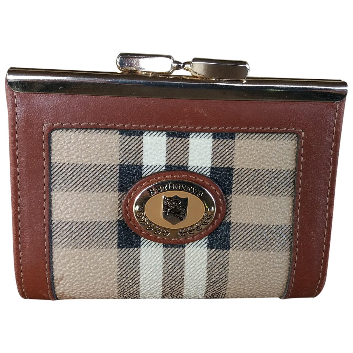 Burberry \N Camel Cloth Purses, wallet & cases for Women \N