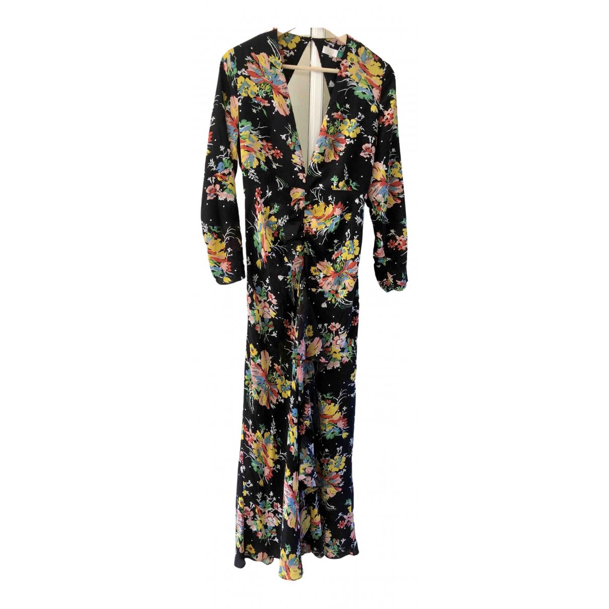 Rixo \N Black Silk dress for Women L International