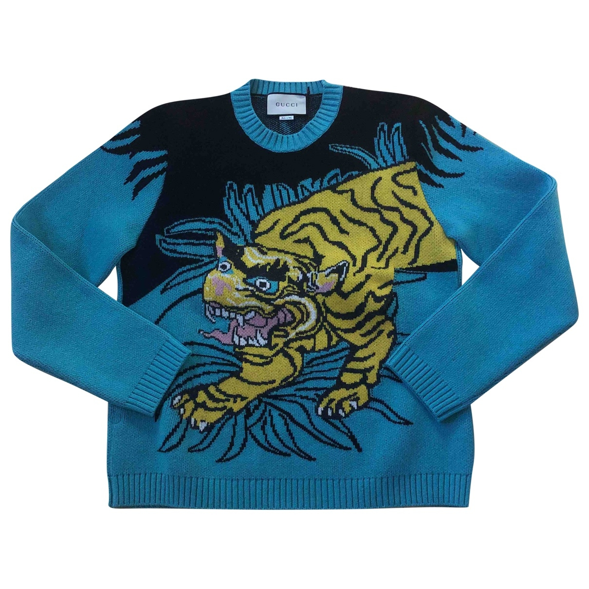 Gucci \N Turquoise Wool Knitwear & Sweatshirts for Men M International