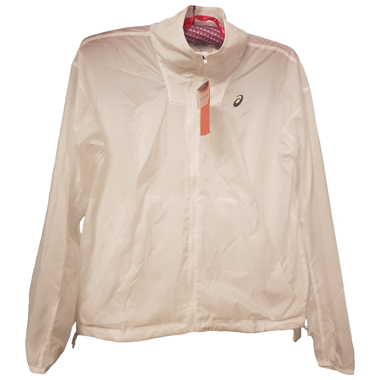 Asics \N Jacke in  Weiss Polyester
