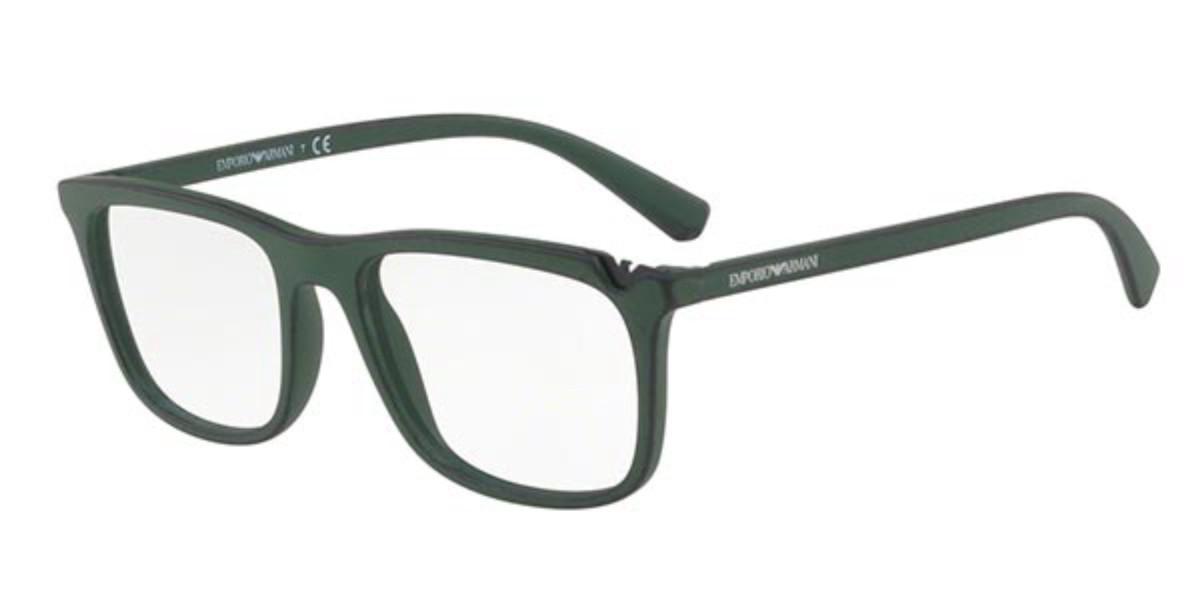 Emporio Armani EA3110 5599 Men's Glasses Black Size 53 - Free Lenses - HSA/FSA Insurance - Blue Light Block Available
