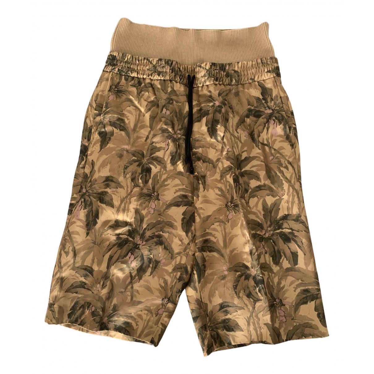 Dries Van Noten \N Shorts in  Bunt Polyester
