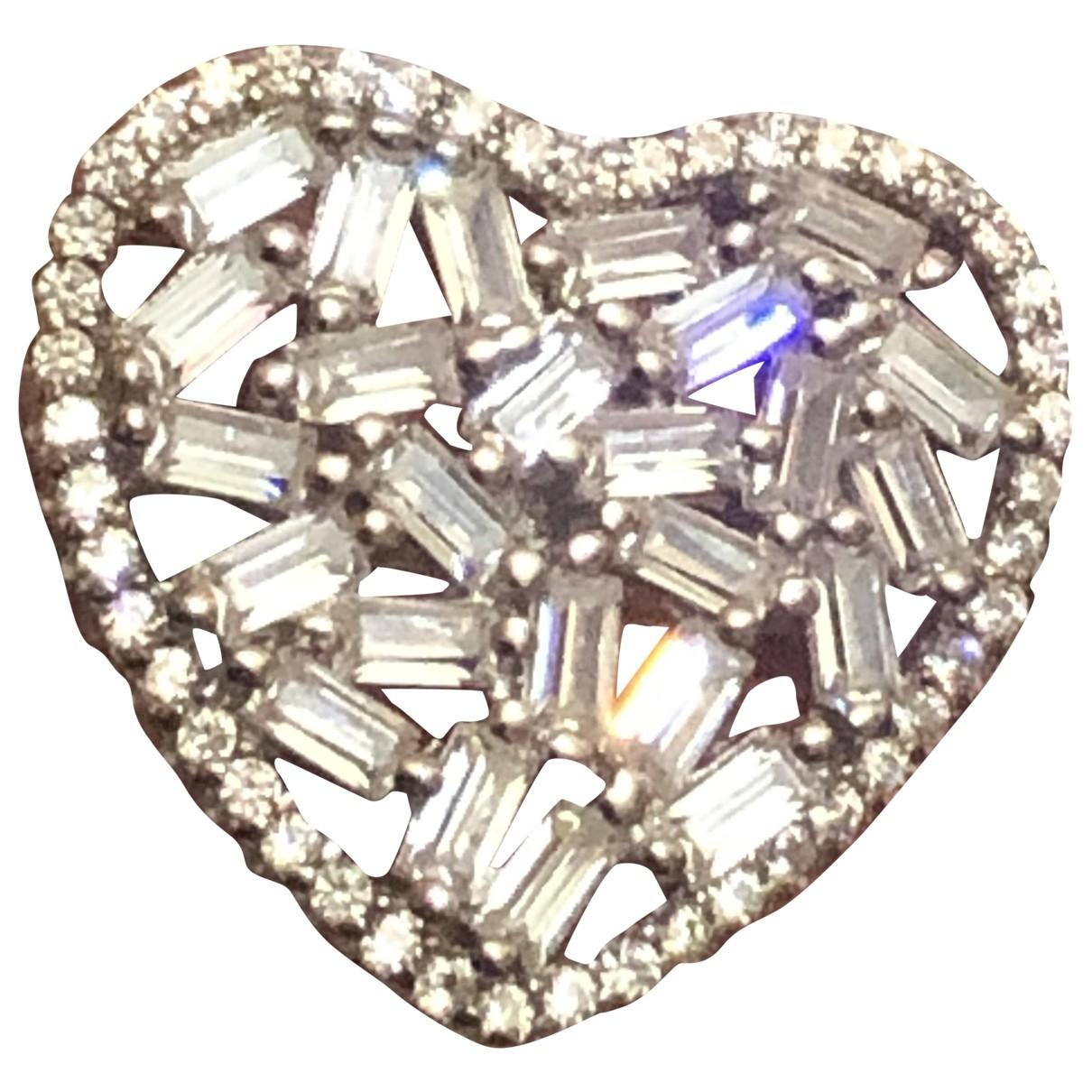 - Bague Motifs Coeurs pour femme en vermeil - argente