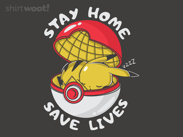 Stay Home - Electric T Shirt