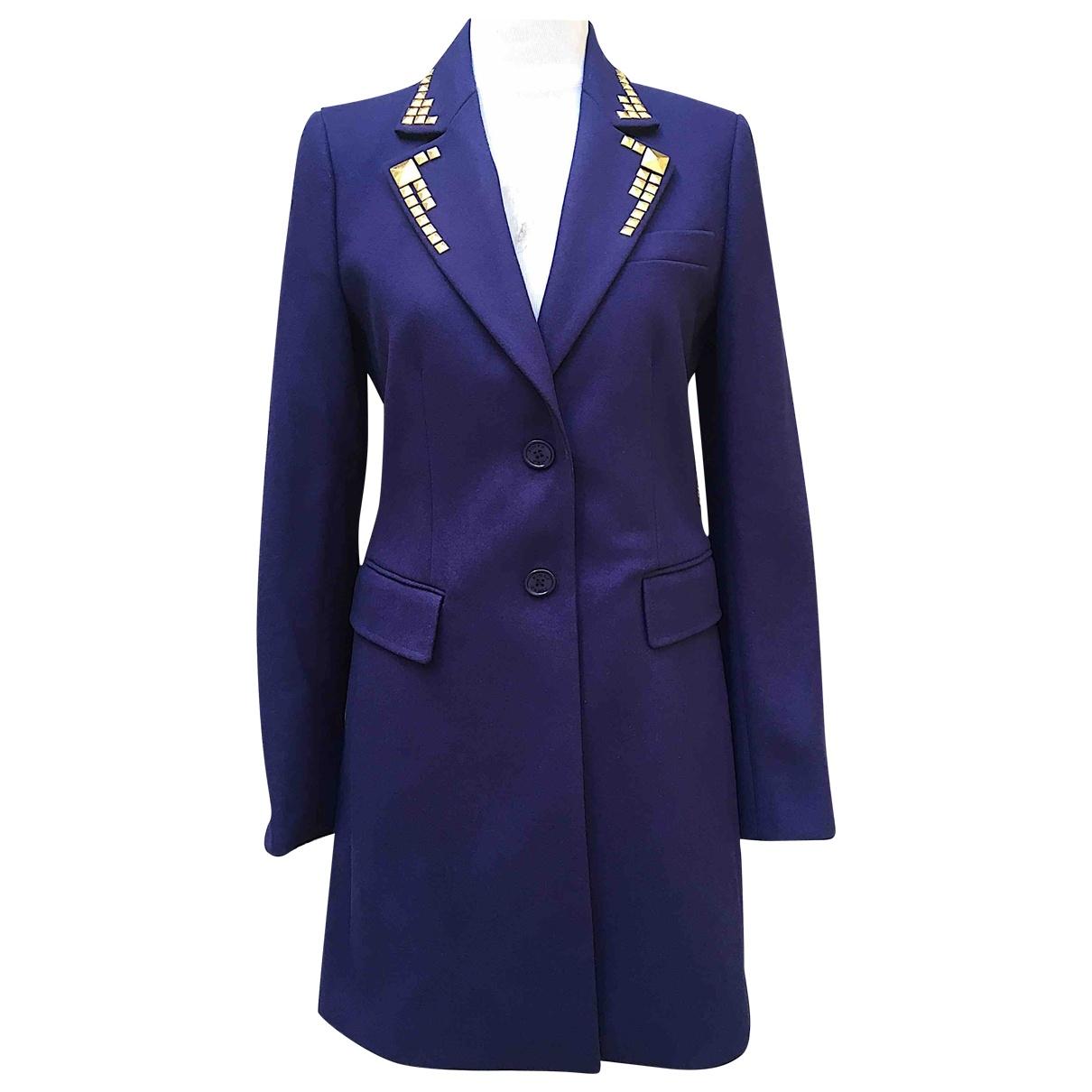 Pinko - Veste   pour femme en laine - bleu