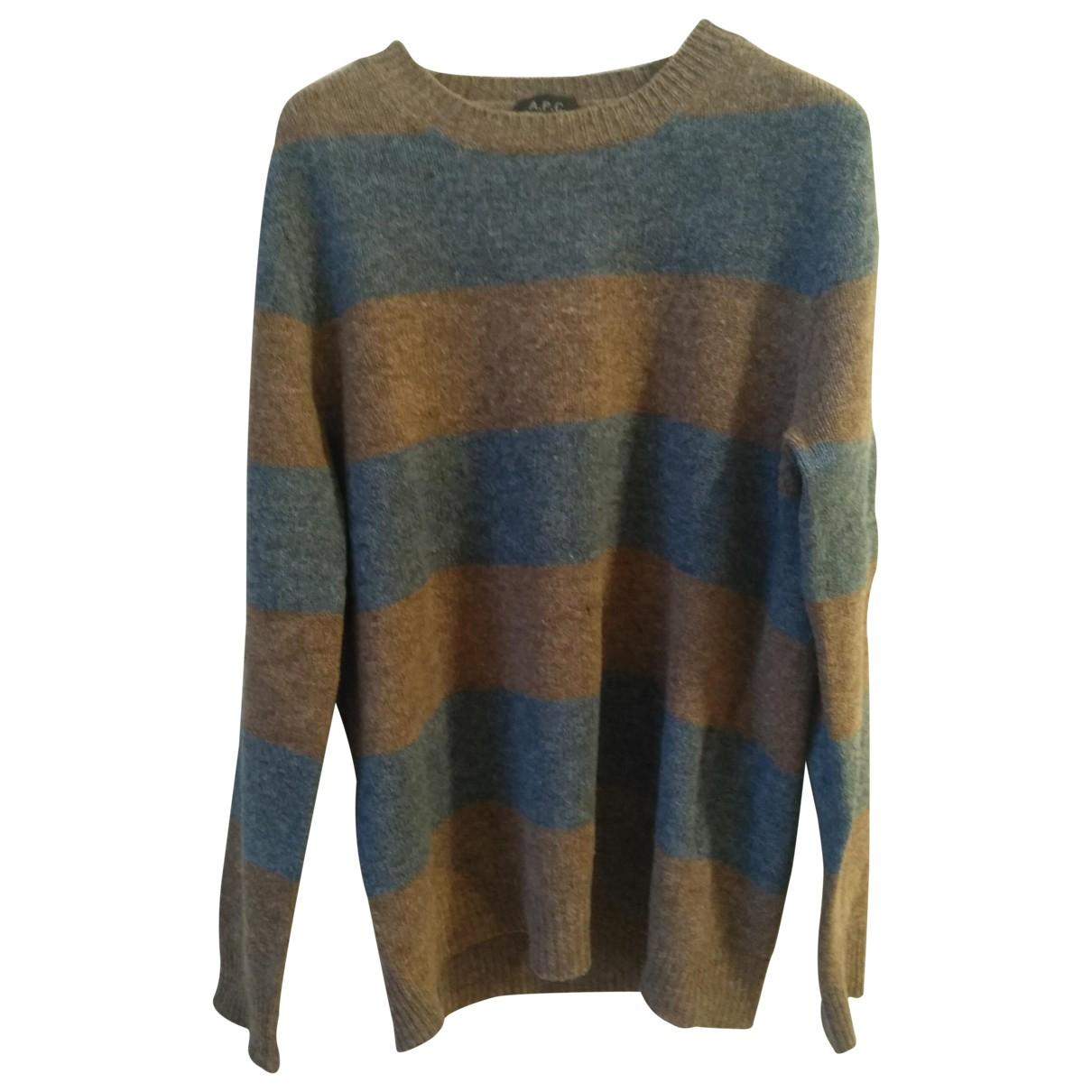 Apc \N Pullover.Westen.Sweatshirts  in  Braun Wolle