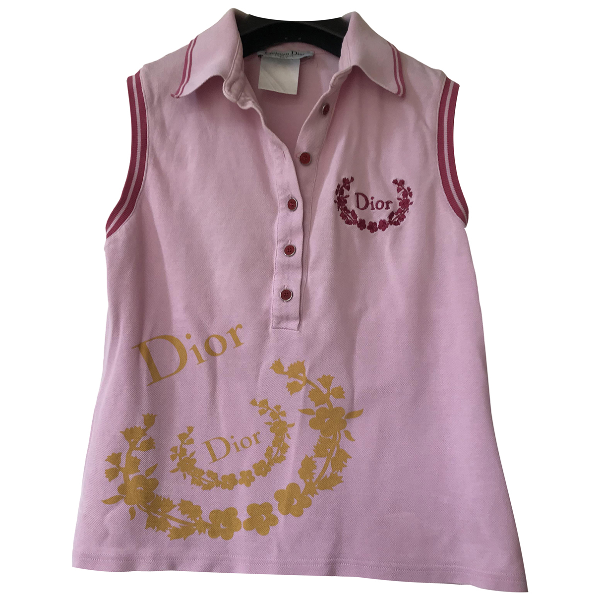 Dior \N Pink Cotton  top for Women 38 FR
