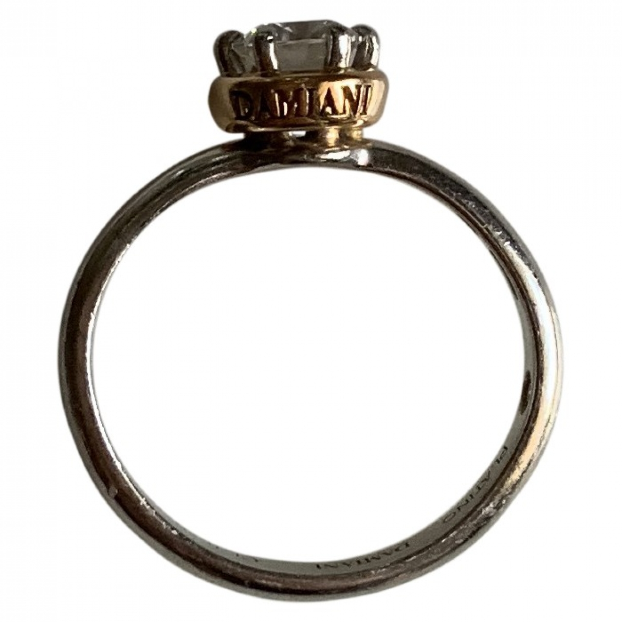 Damiani \N Ring in  Gold Platin