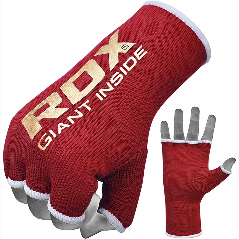 RDX IB Guantes Internos Calceteria Rojo Pequeño