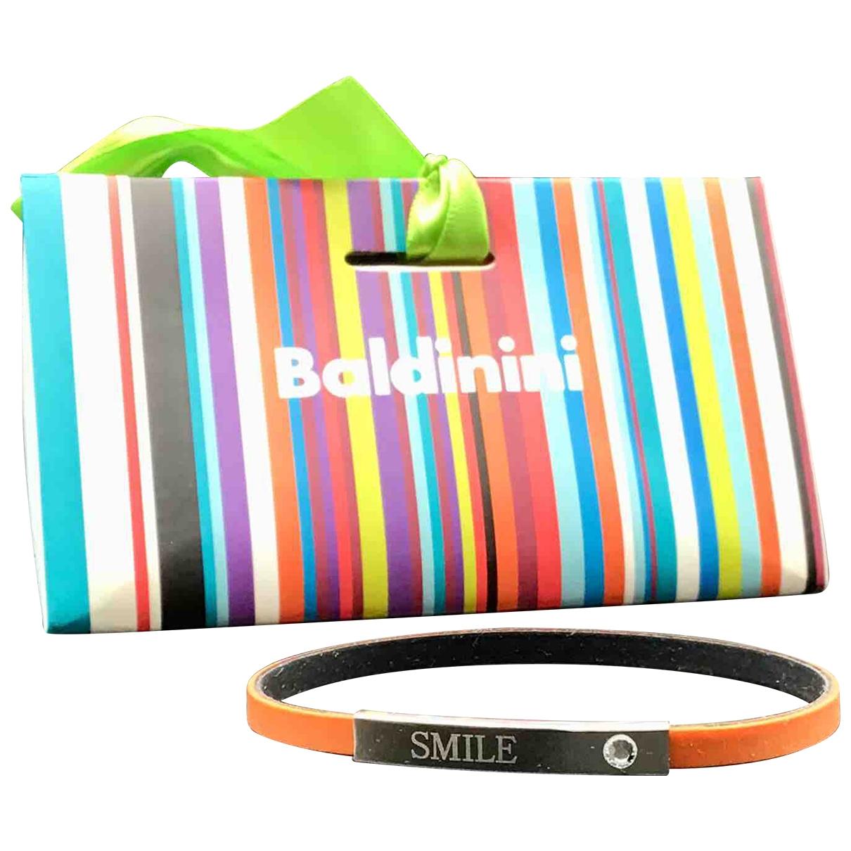 Baldinini \N Armband in  Orange Kunststoff
