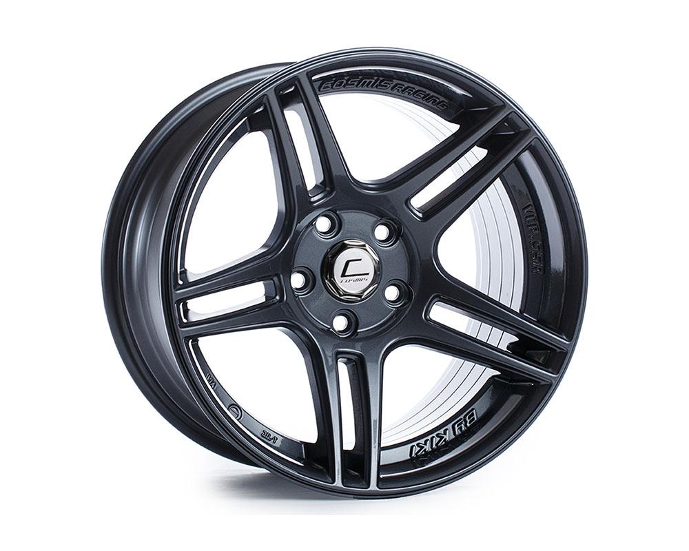 Cosmis Racing S5R-1790-22-5x114.3-GM S5R Wheel 17x9 5x114.3 +22mm Gun Metal