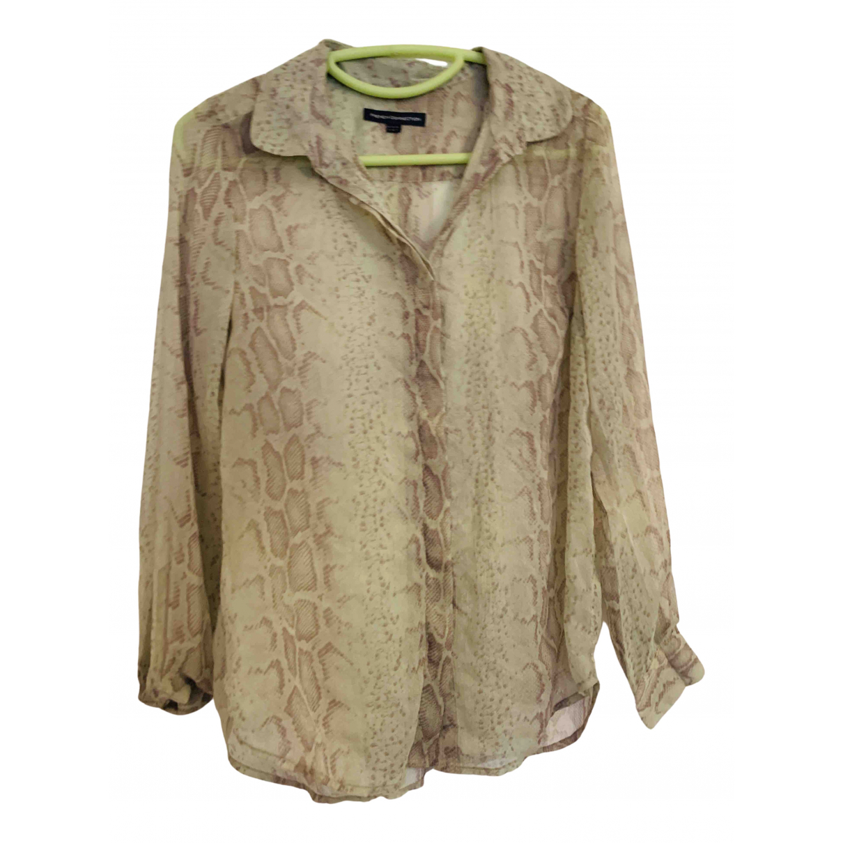 French Connection \N Green  top for Women 8 UK
