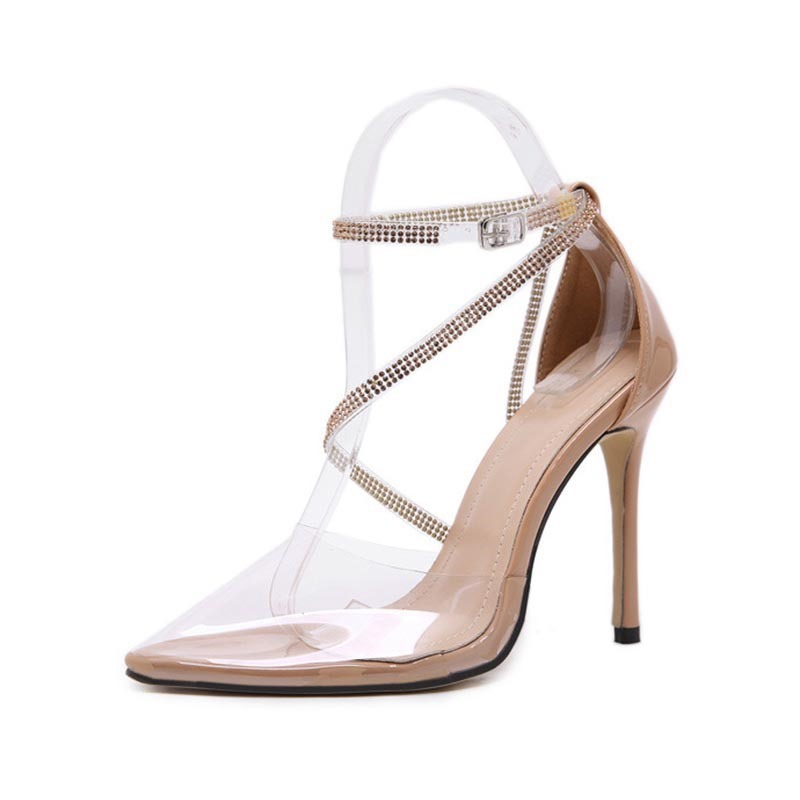 Ericdress Thread Pointed Toe Line-Style Buckle Western Pumps