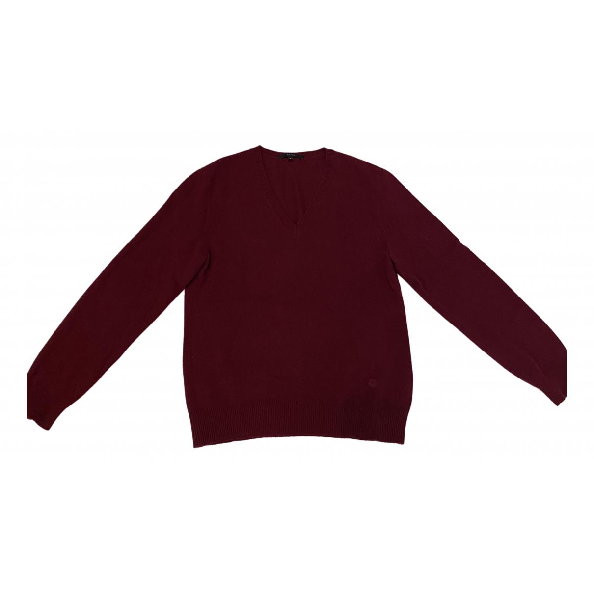 Gucci - Pulls.Gilets.Sweats   pour homme en laine - bordeaux