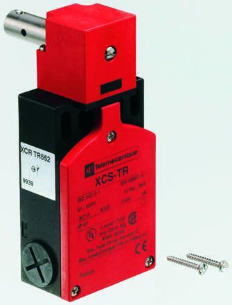 Telemecanique Sensors Preventa XCS Safety Hinge Switch, NO/2NC, M16 x 11