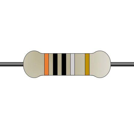 Yageo 1Ω Wirewound Wirewound Resistor 2W 5% FKN2WSJT-52-1R (1000)
