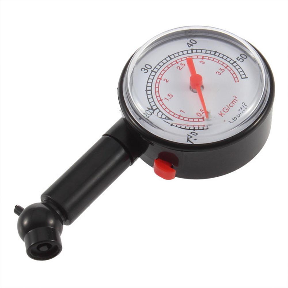 (0 - 50)PSI (0 - 3.5)BAR Dial Tire Pressure Gauge Meter Pressure Tyre Measurement Tool