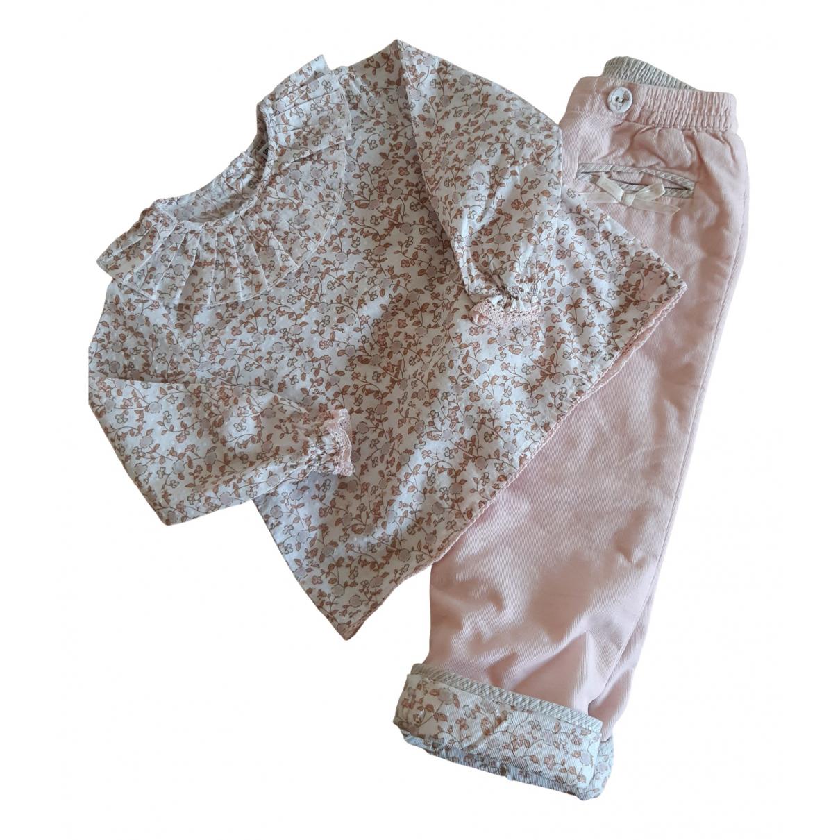 Baby Dior \N Sets in  Rosa Baumwolle
