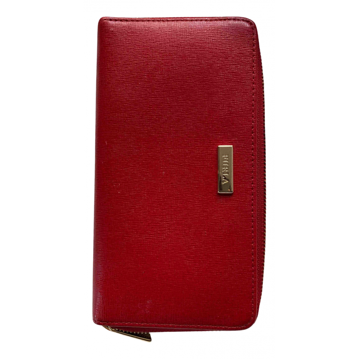 Furla N Red Leather wallet for Women N