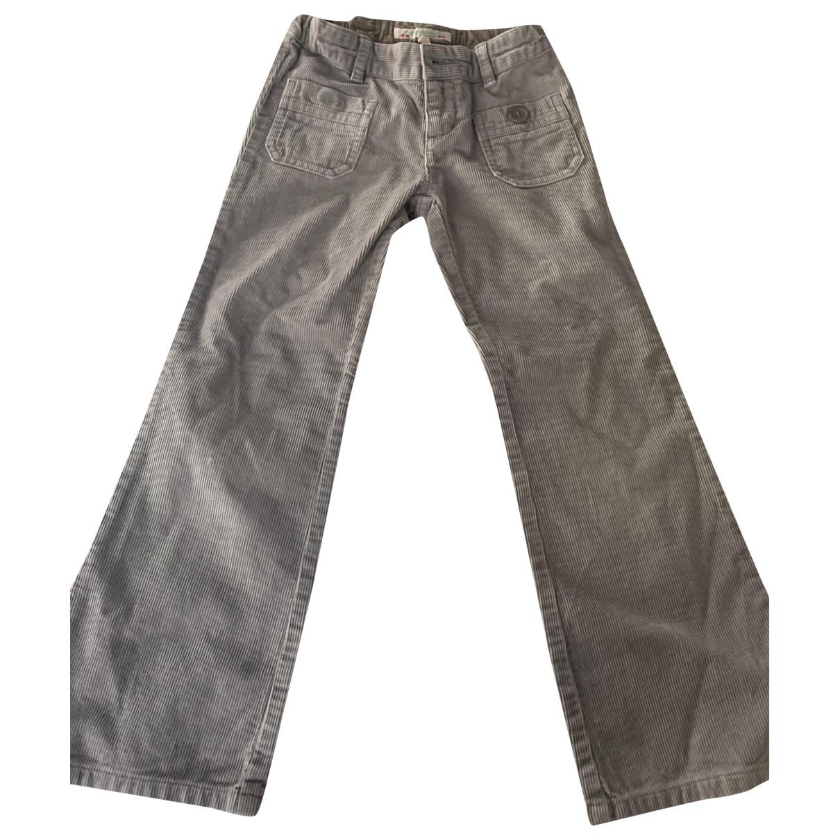 Bonpoint - Pantalon   pour enfant en coton - gris