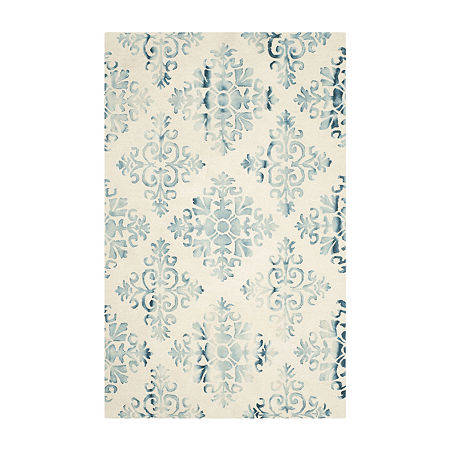 Safavieh Dip Dye Collection Durward Floral Area Rug, One Size , Multiple Colors