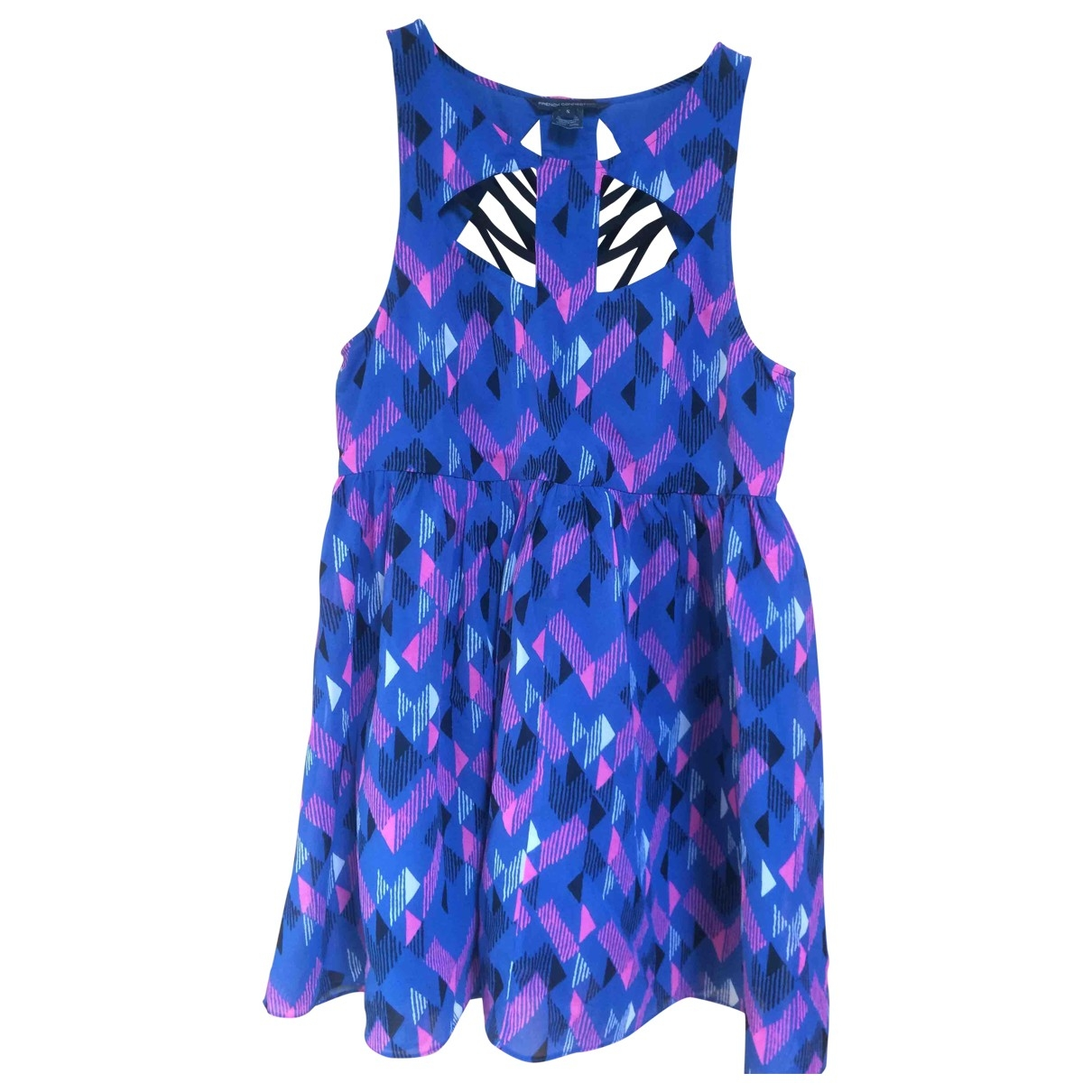 French Connection \N Purple Silk dress for Women S International
