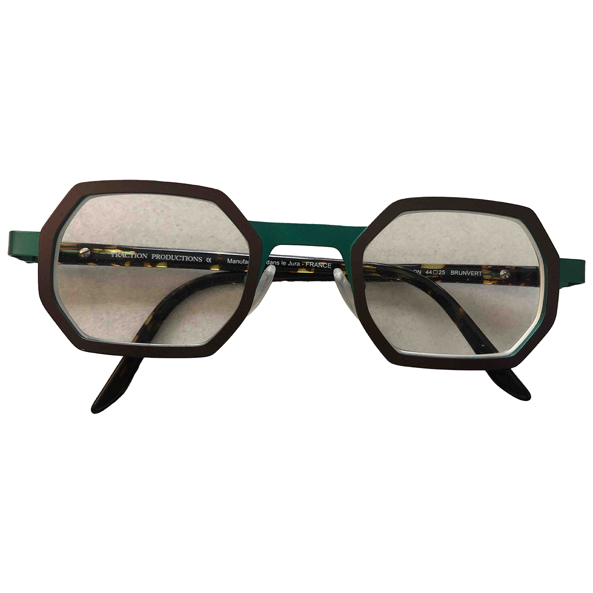 Traction Productions N Green Metal Sunglasses for Men N