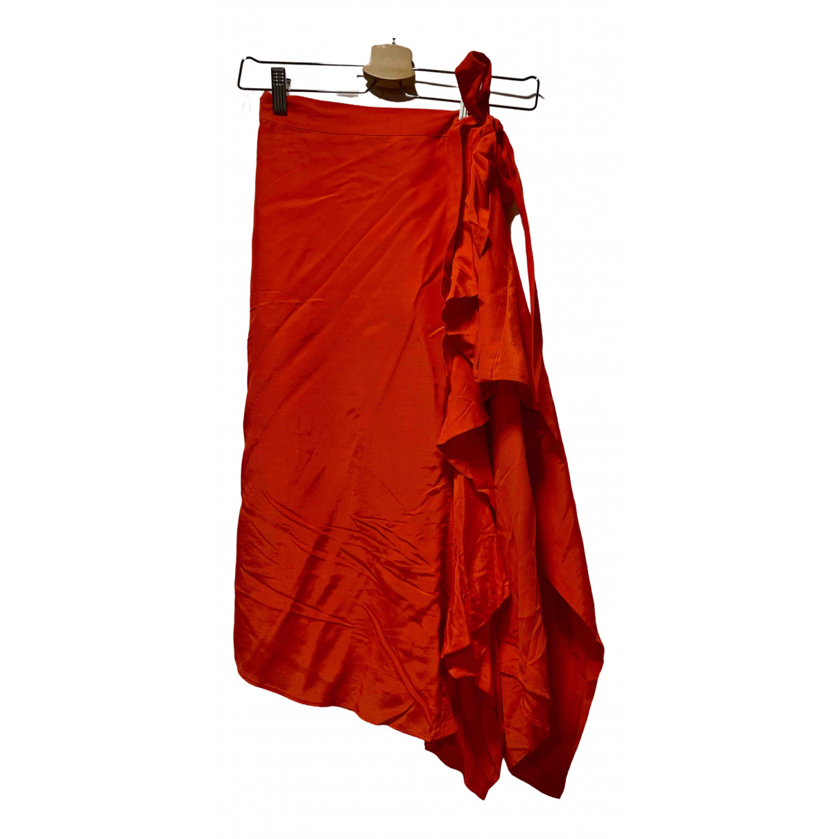 & Other Stories - Jupe   pour femme - rouge