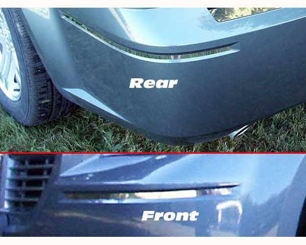 Quality Automotive Accessories 4-Piece 0.375-Inch Width Bumper Insert Chrysler 300 | 300C 2008