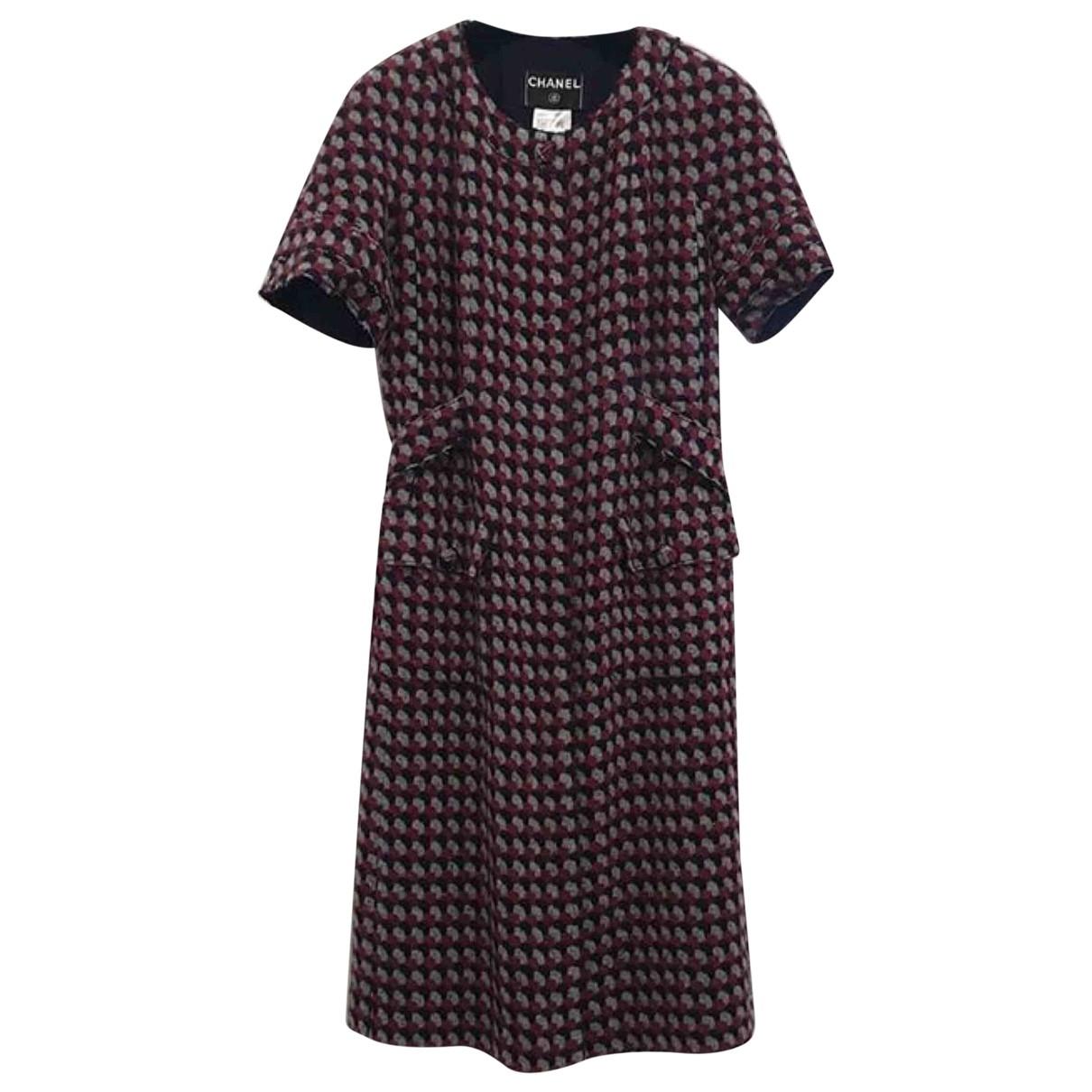 Chanel - Robe   pour femme en cachemire - multicolore