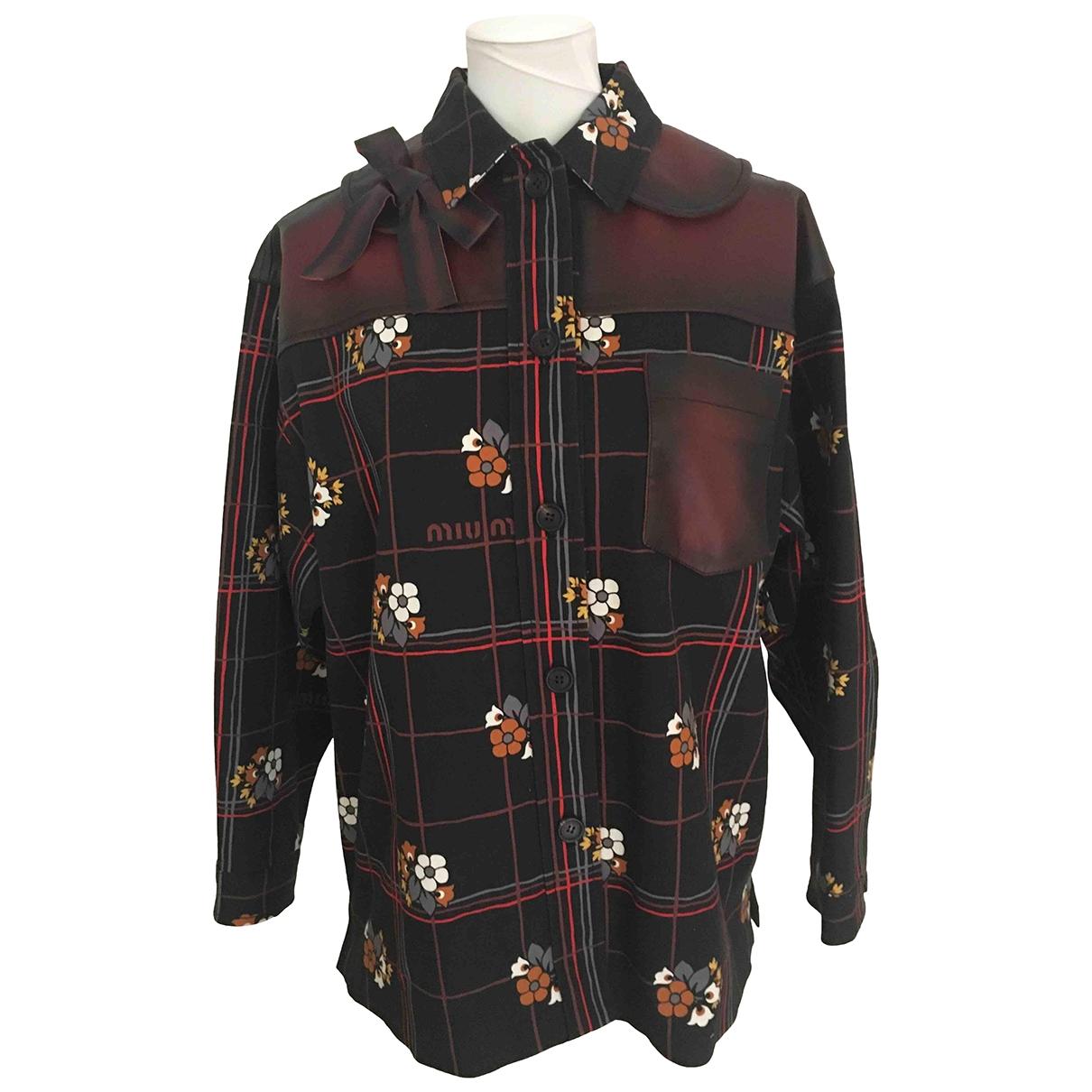 Miu Miu \N Multicolour Cotton jacket for Women 38 IT