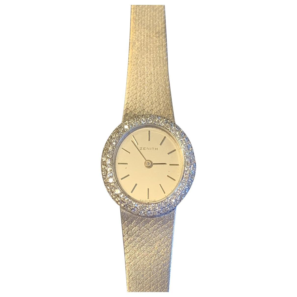 Reloj de Oro blanco Zenith