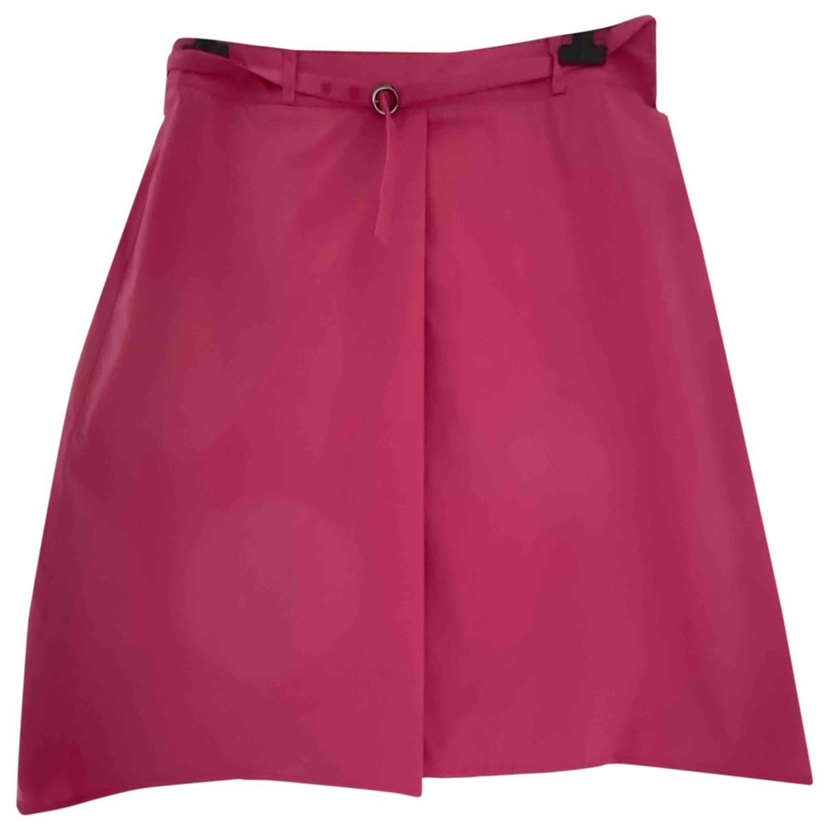 Boss - Jupe   pour femme en coton - rose