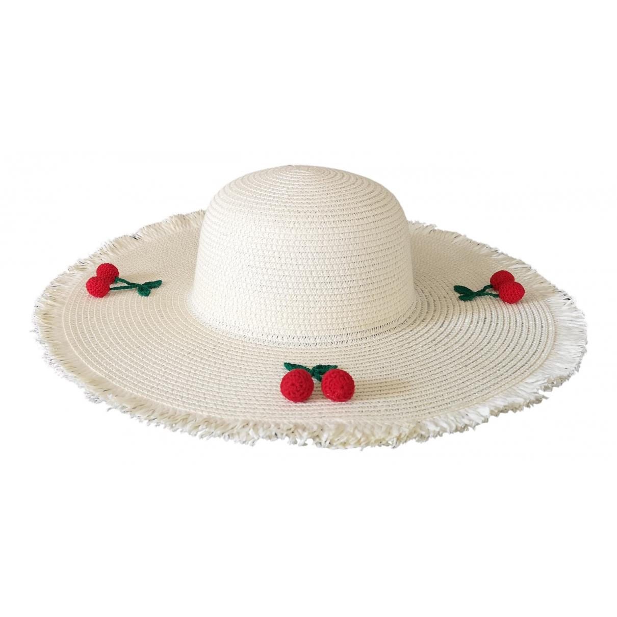 - Chapeau   pour femme en autre - ecru