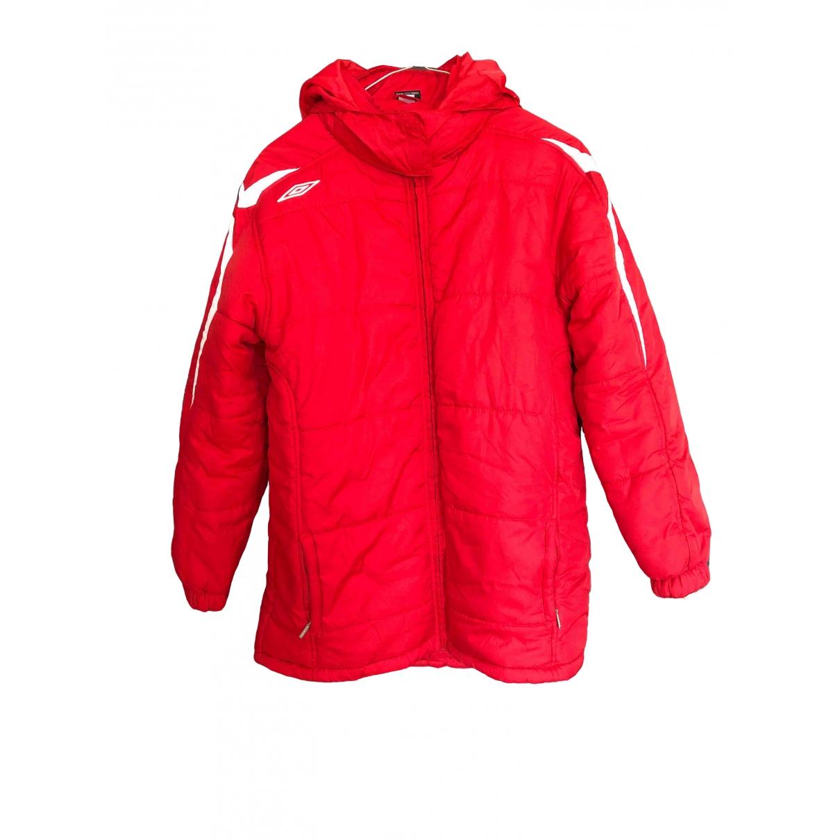 Umbro \N Maentel in  Rot Polyester