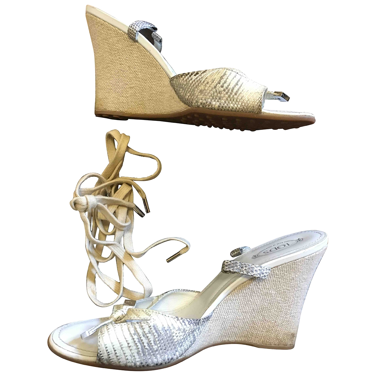 Sandalias romanas de Cuero Tods