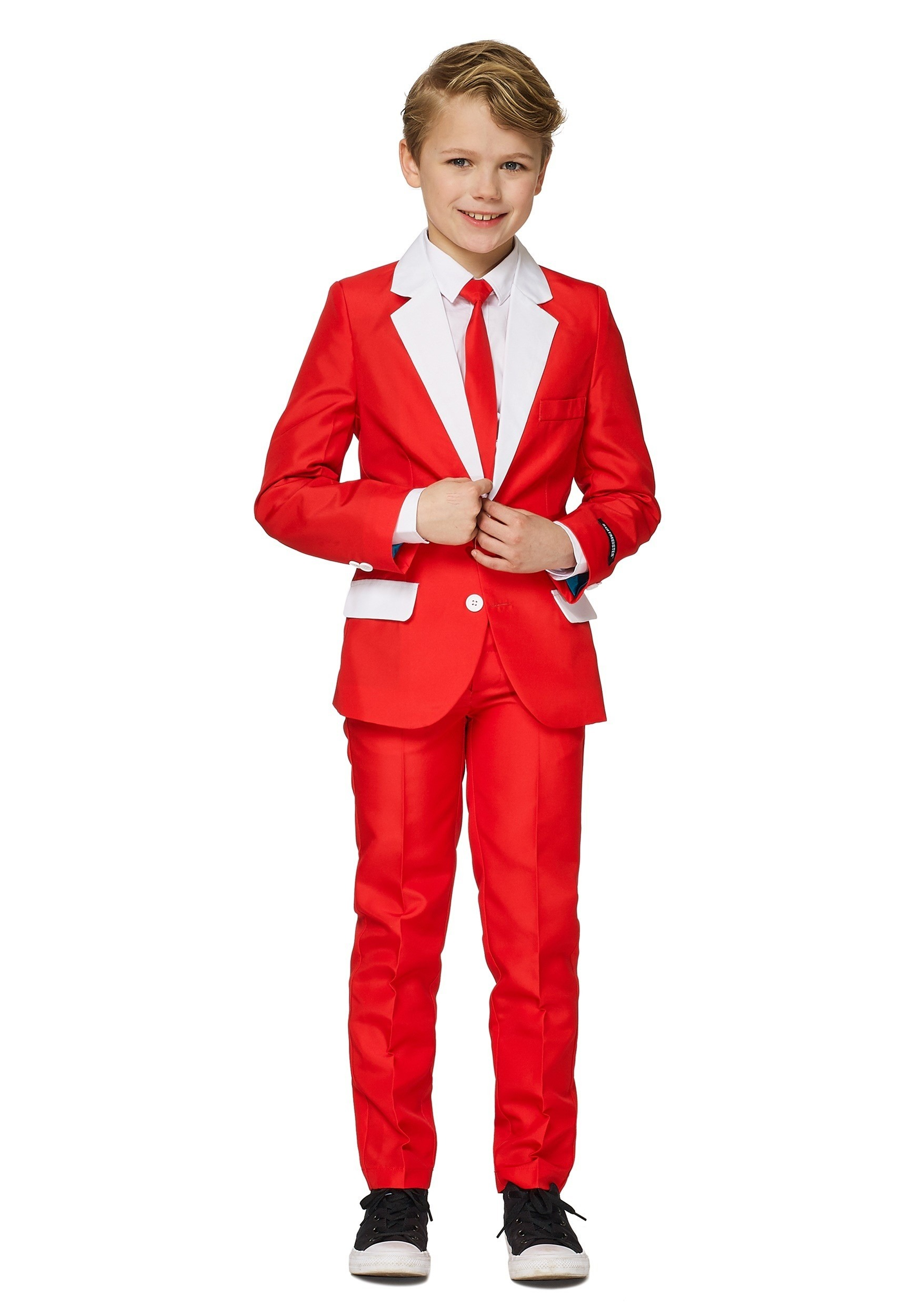 Boys Holiday Santa Suitmeister
