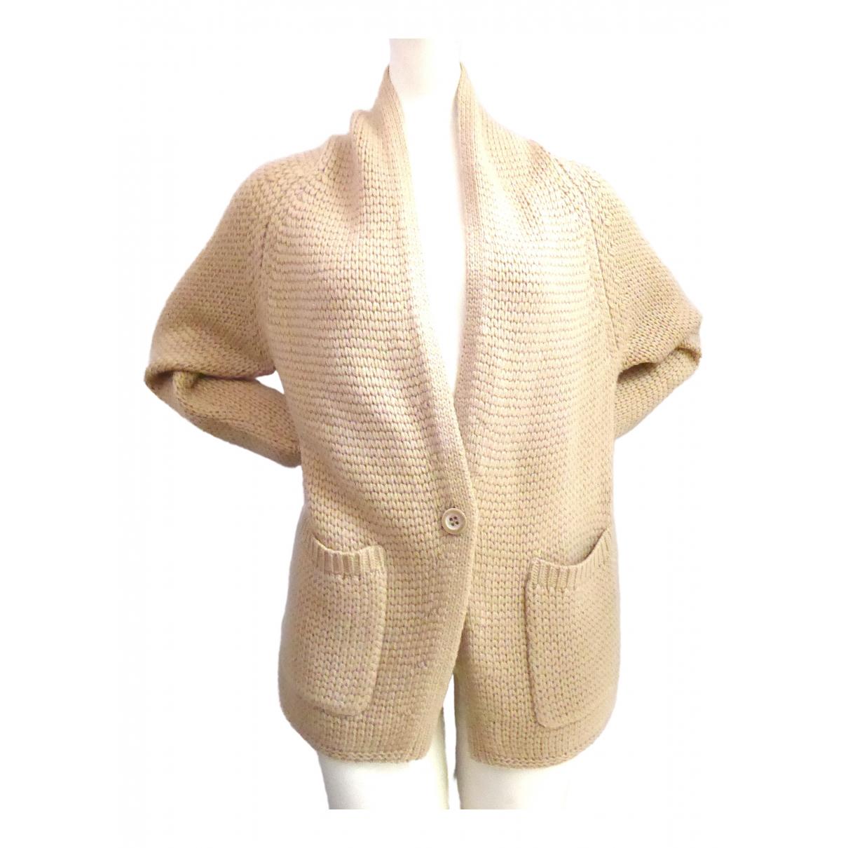 Nice Connection - Pull   pour femme en laine - beige