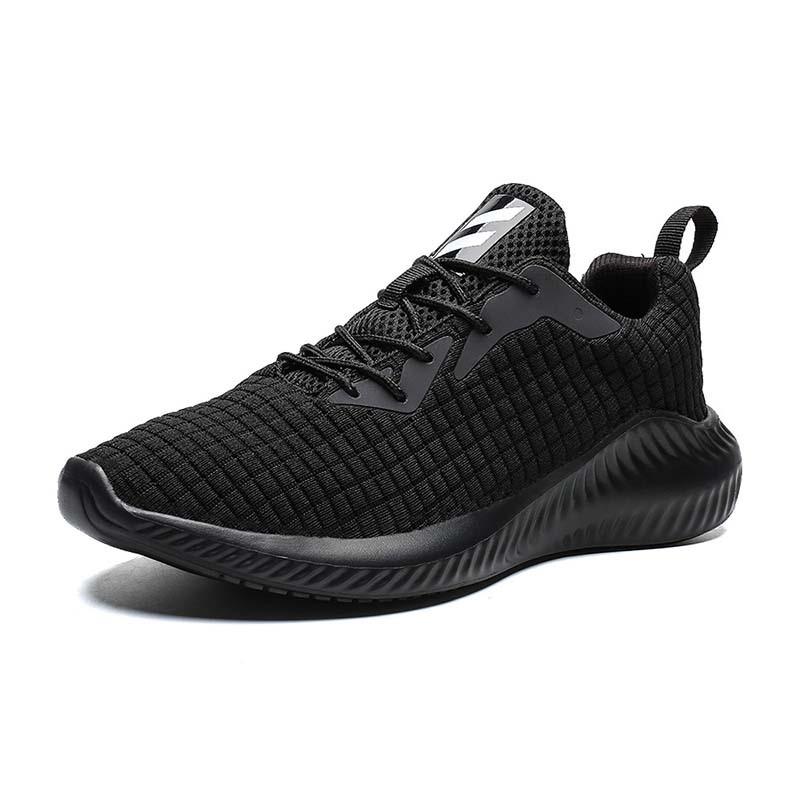 Ericdress Flyknit Color Block Lace-Up Men's Outdoor Sneakers