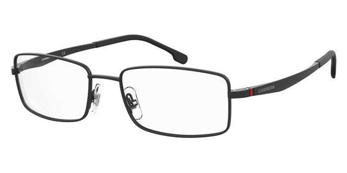 Carrera 8855 003 Men's Glasses Black Size 56 - Free Lenses - HSA/FSA Insurance - Blue Light Block Available